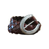 Leegin Leather Women's Bella Braided Belt - Brown