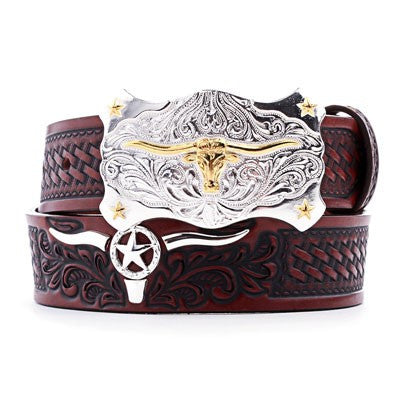 Tony Lama Longhorn Children's Belt