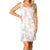 Buddy Love Women's Laura Smocked Mini Dress - Origami