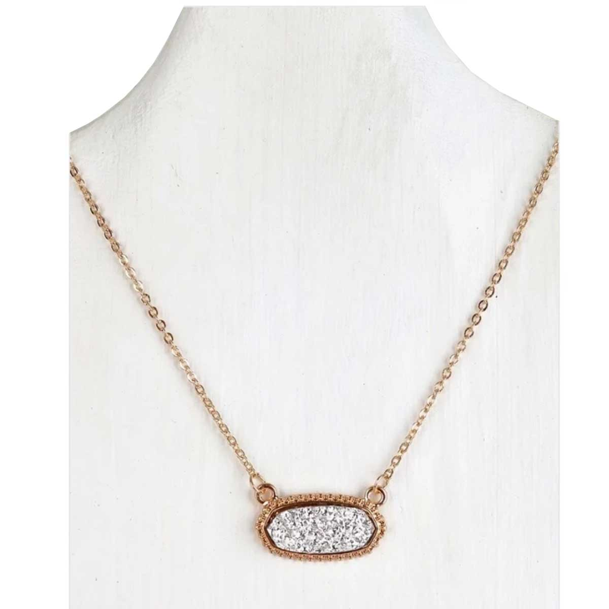 Urbanista Druzy Short Necklace