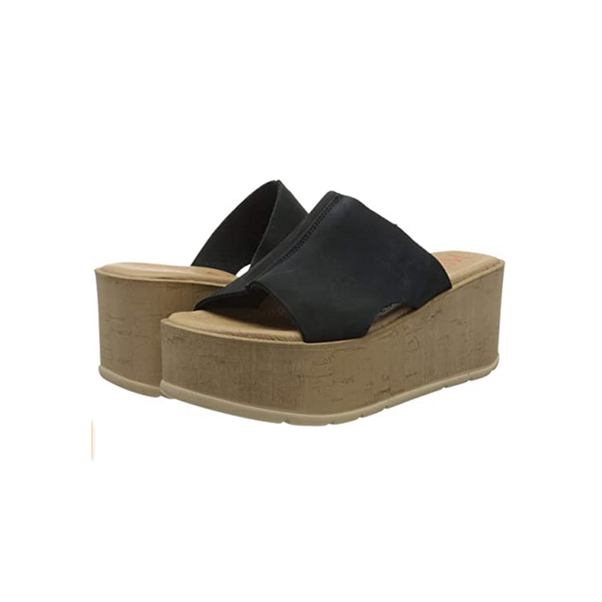 Musse & Cloud Women's Dusy Wedge Sandal - Black