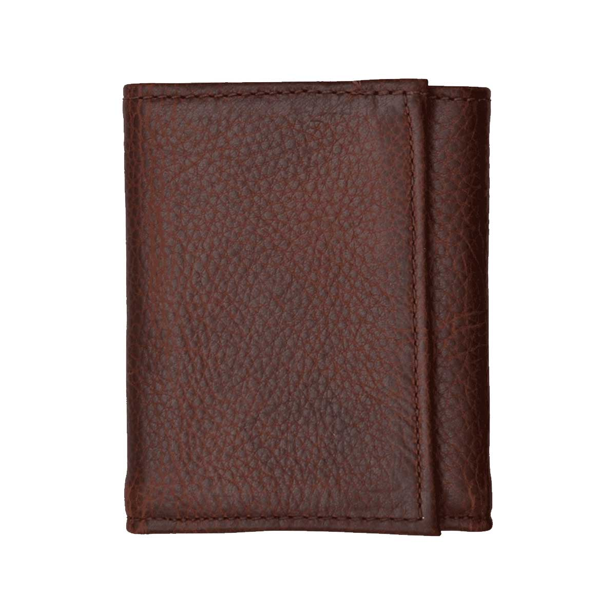 M&F Western Pebbled Leather Trifold Wallet - DW1030