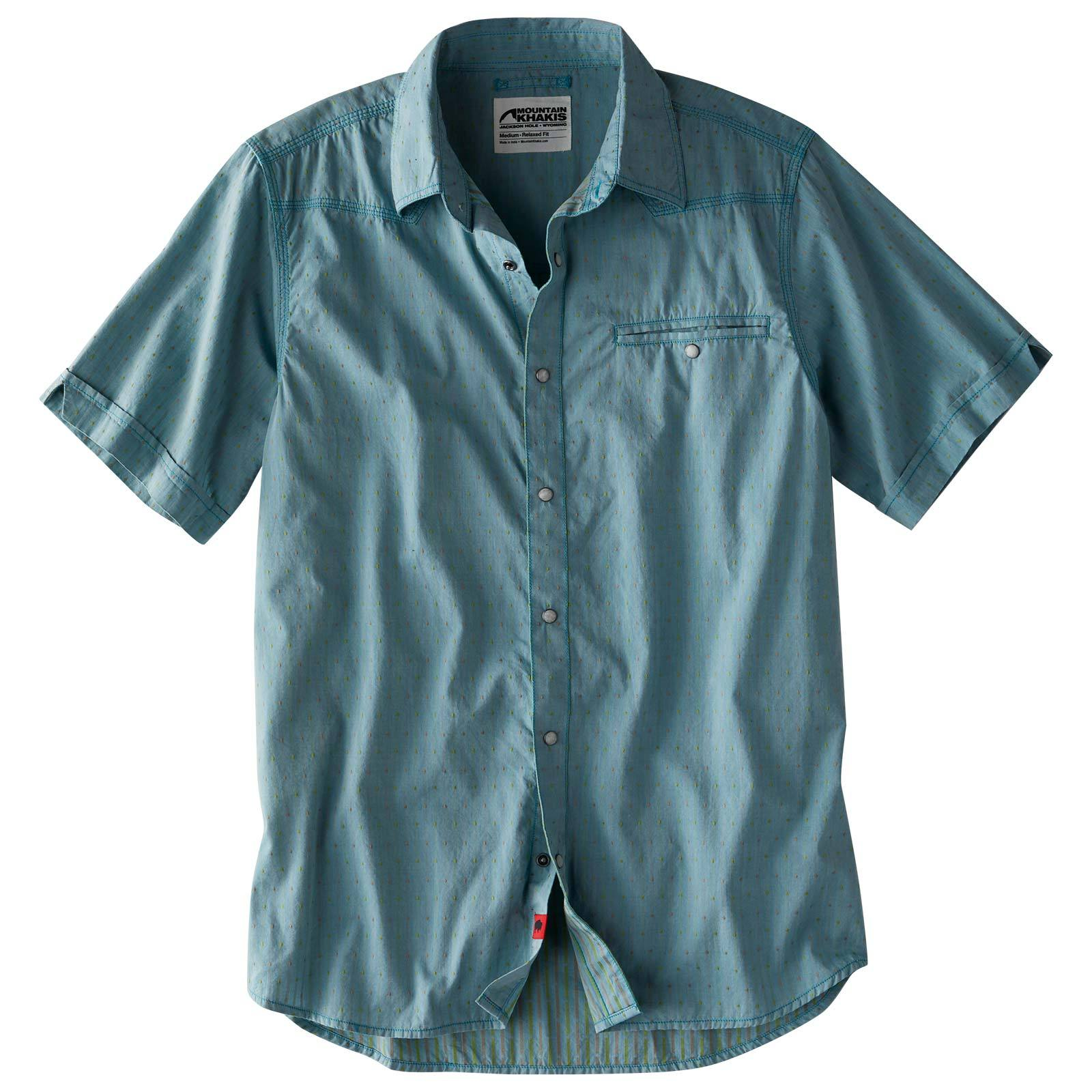 Mountain Khaki El Camino Short Sleeve Shirt