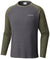 Ketring Raglan Long Sleeve Shirt Shark Htr, Surplus Green Htr