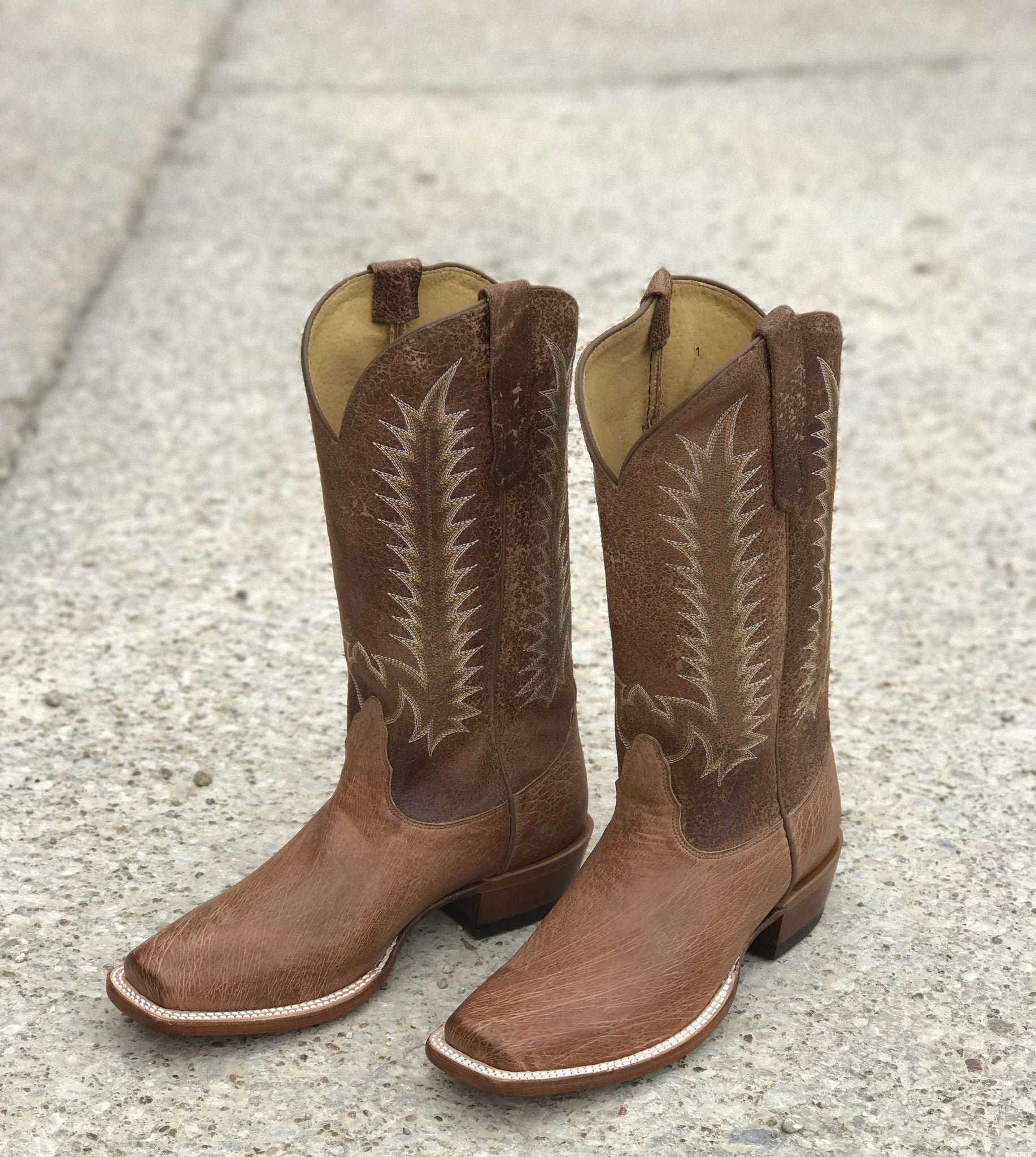 Nocona Tan Vintage Smooth Ostrich Men's Boot