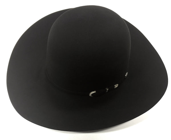 Black 40X 4 1/4 Brim Felt Hat by American Hat Co.
