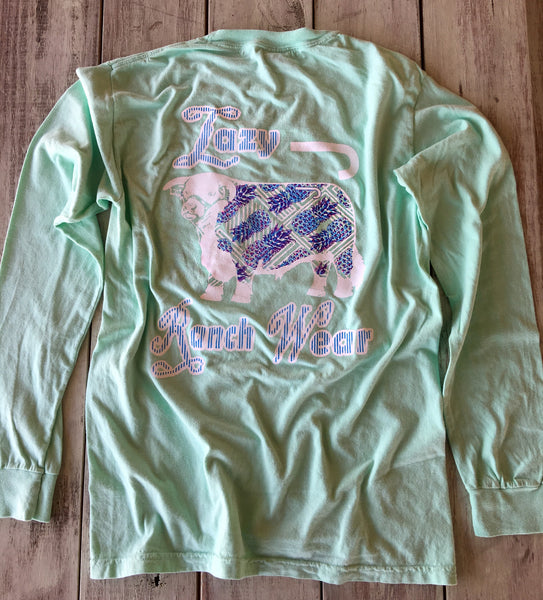 Island Reef Pineapple Hereford Long Sleeve Shirt