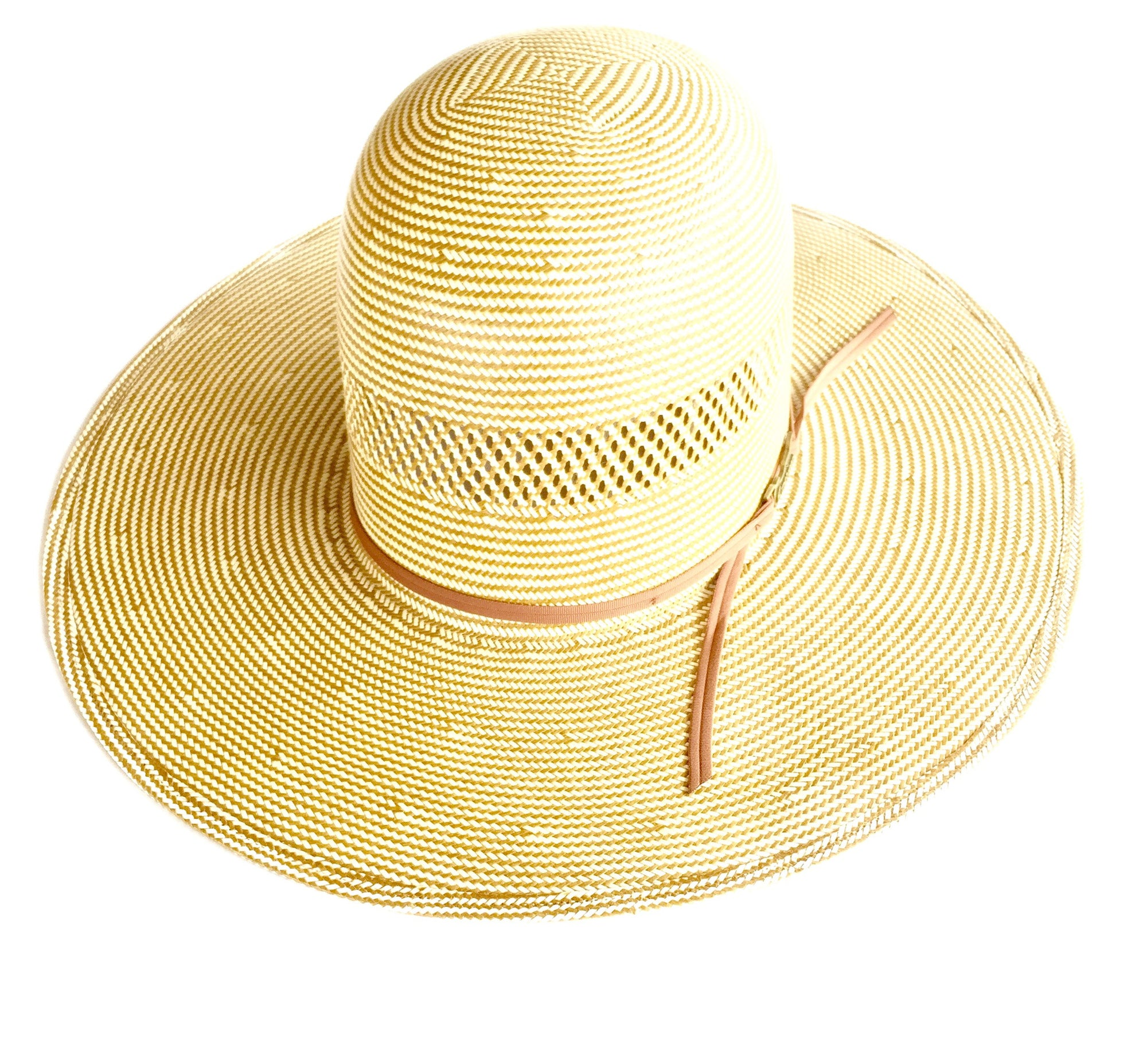 "4 1/2"" Brim Straw Hat by American Hat Co., Straw Hat, American Hat Co. - Lazy J Ranch Wear"