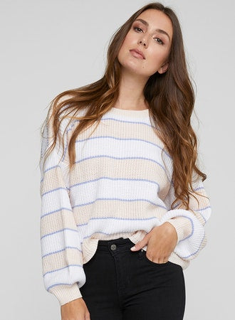 Milkshake Alden Cropped Oversized Sweater