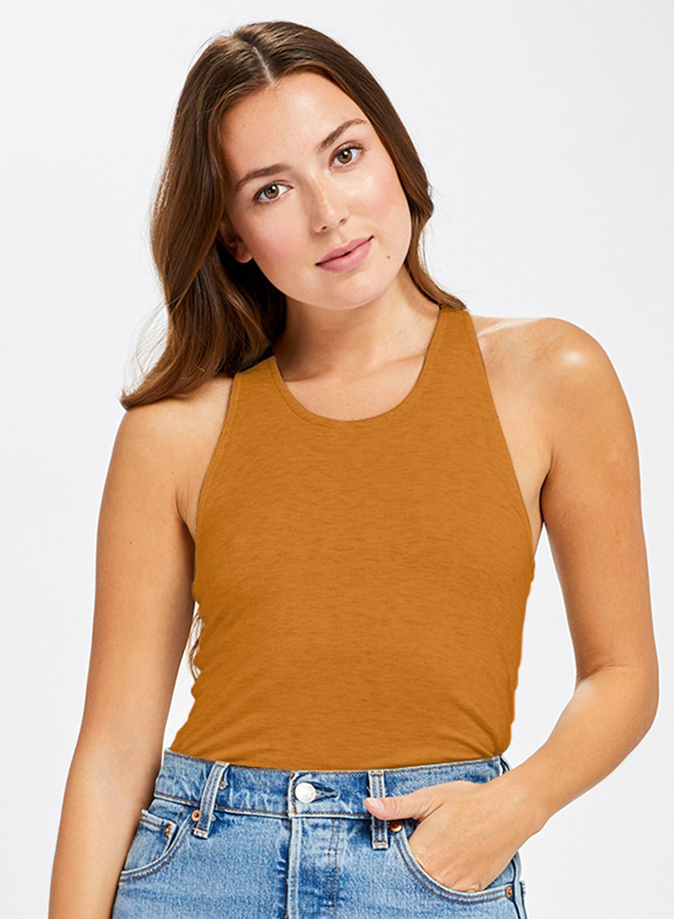 Gentle Fawn Gold Coco Sleeveless Top