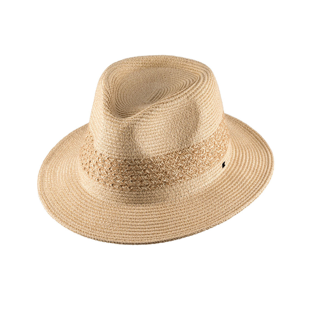 Kooringal Unisex Breeze Fedora Hat - Natural