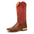 Anderson Bean Men's Horse Power HP8003 Brandy Boots - Caiman Belly Red
