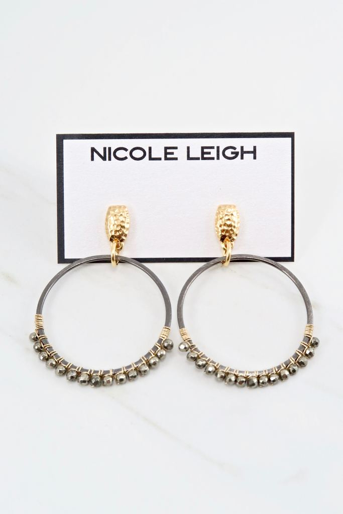 Harper Earrings By Nicole Leigh