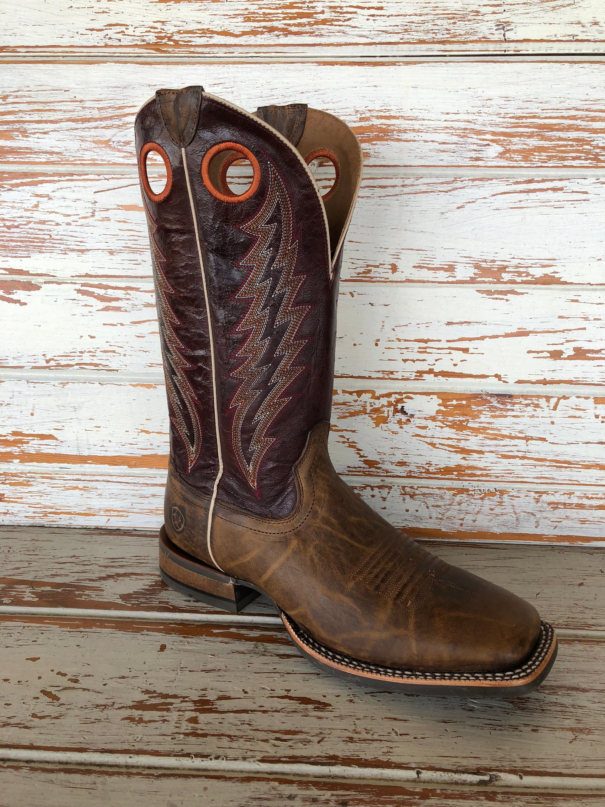 Ariat Branding Pen Men's Square Toe Boot