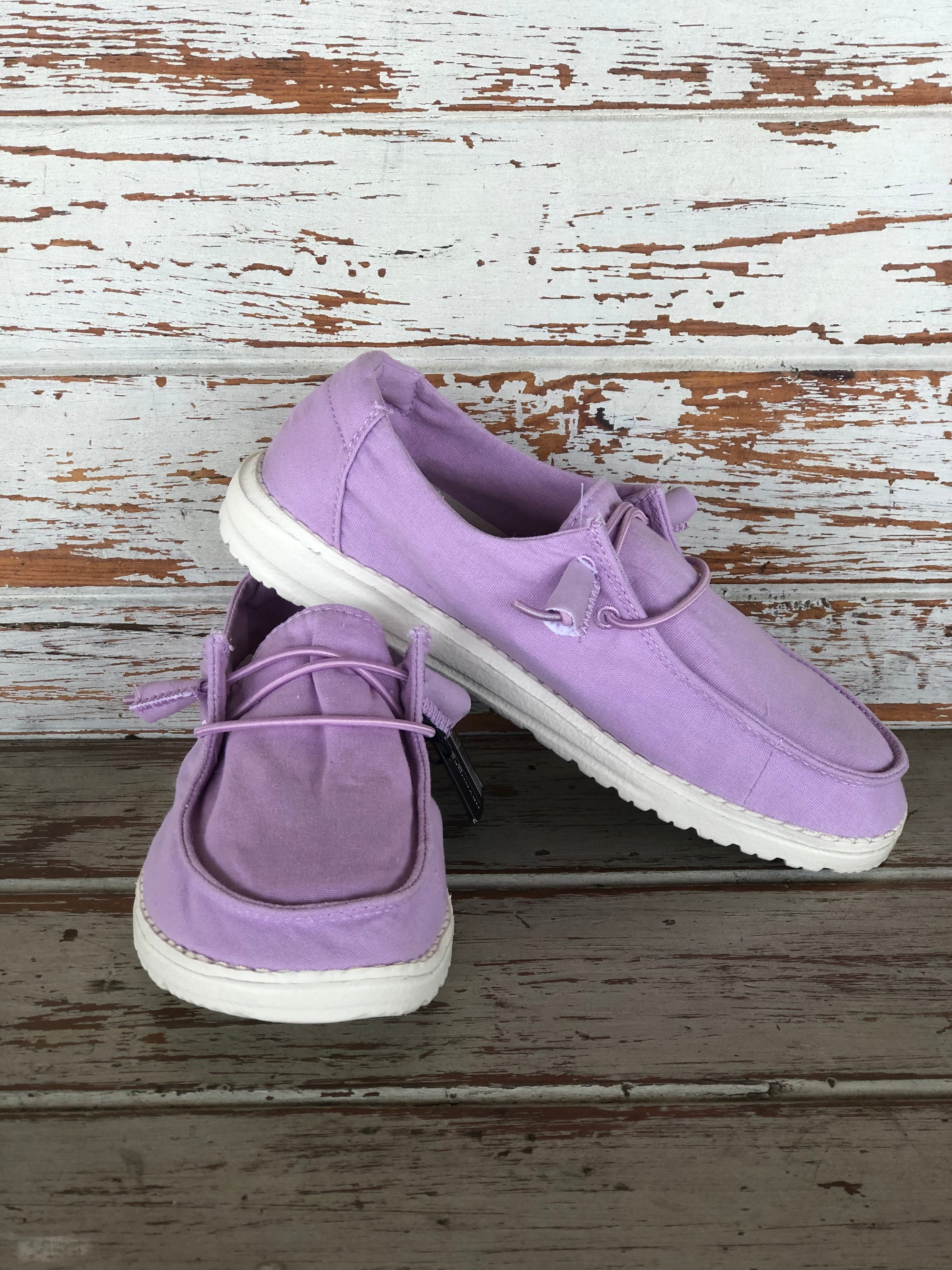 Women's Hey Dude Wendy Lilac