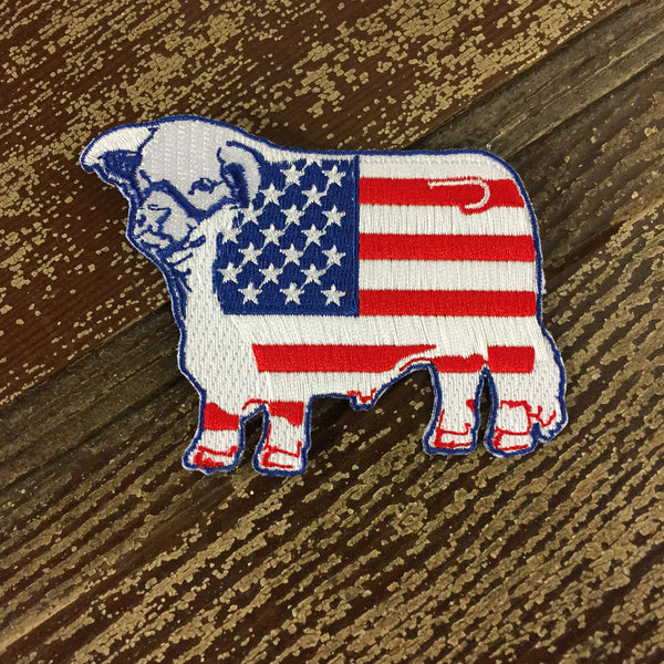 American Flag Hereford Patch
