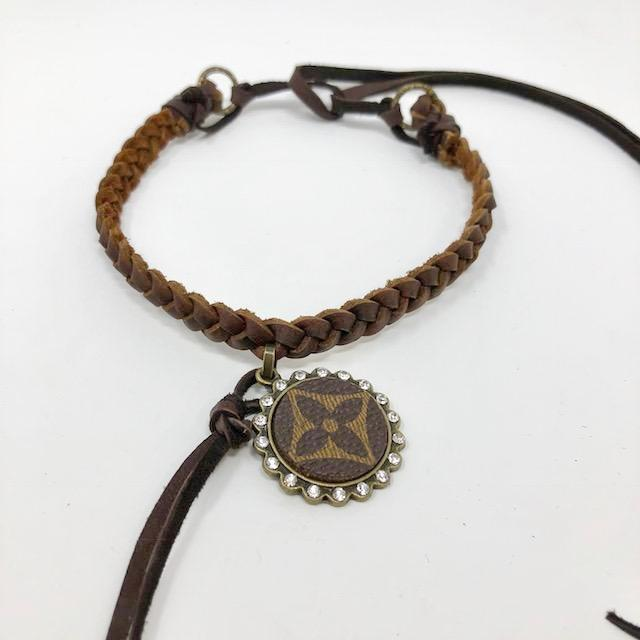 Louis Vuitton Braided Choker