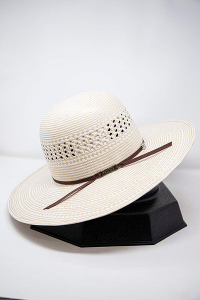 "American Hat Co. 4 1/4"" Brim Straw Hat"