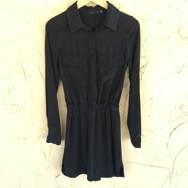 Long Sleeve Cargo Dress