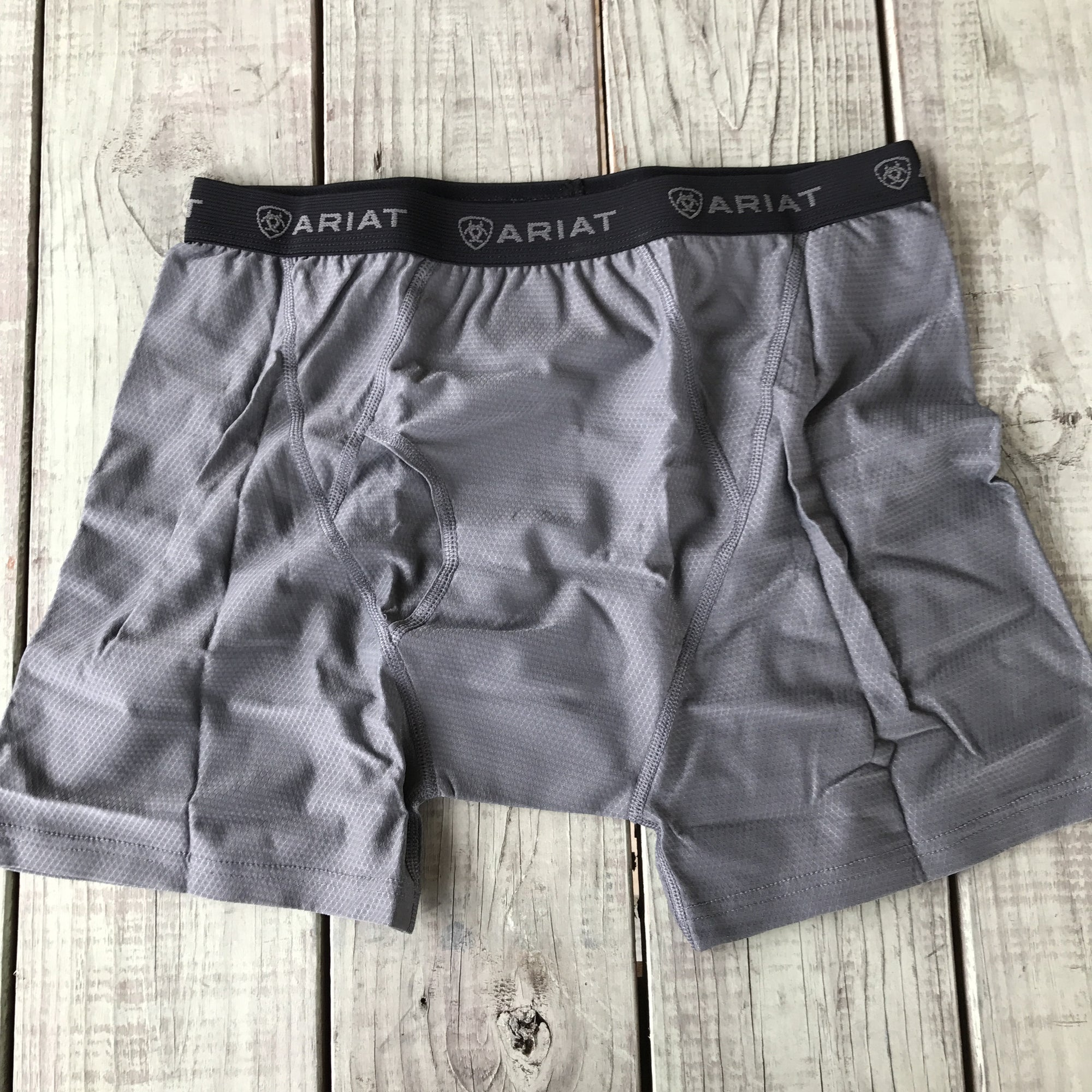 Ariat Grey Undertek Men's Boxer