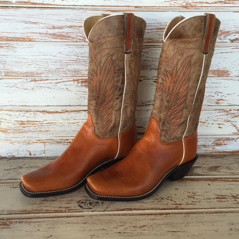 "Mad Cat 13"" Top Handmade Boot by Olathe Boots"