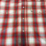 Red Plaid Pearl Snap Relentless Shirt by Wrangler