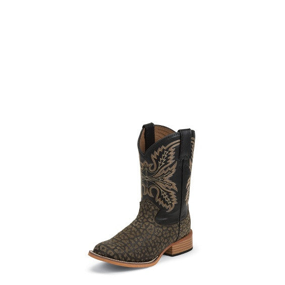 Justin Haystone Buffalo Children's Boot