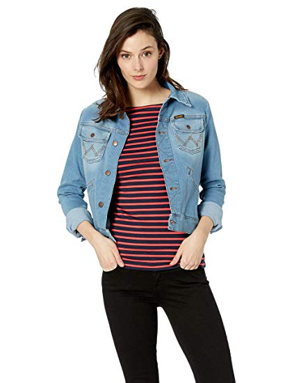 Women's Retro Wrangler Jean Jacket