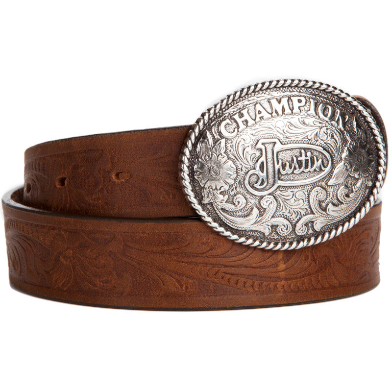 Justin Champion Tool Bark Kid's Belt
