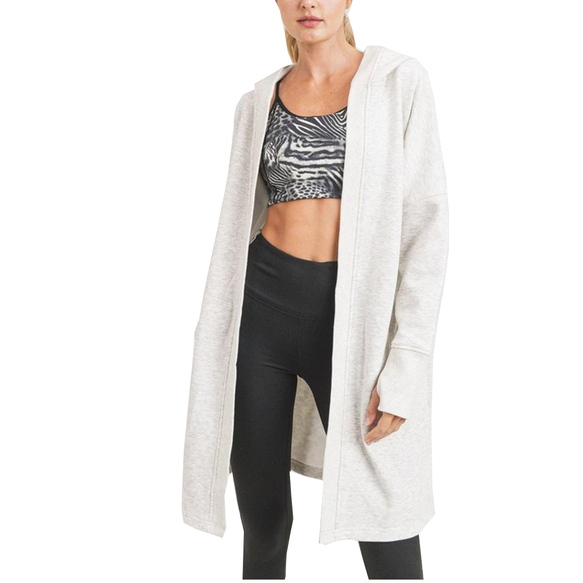 Mono B Women's In The Woods Cardigan - Oatmeal