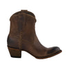 Lane Boots Plain Jane Short Cognac Women's Bootie