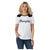 Wrangler Women's Retro Short Sleeve Contrast Yoke Rope Logo Tee - Black White