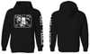 Lazy J Ranch Wear Black White Elevation Hoodie