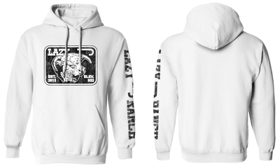 Lazy J Ranch Wear White Elevation Hoodie