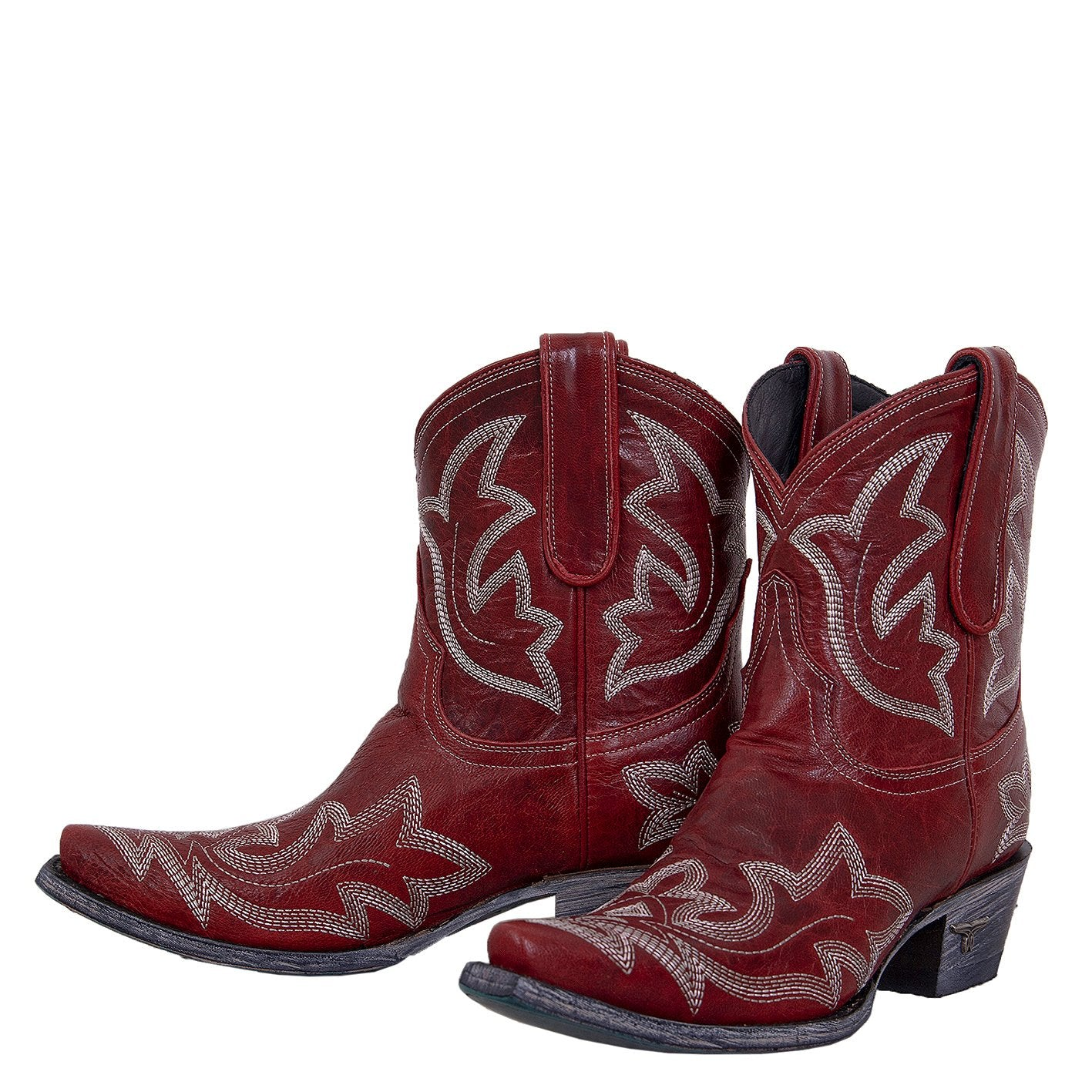 Lane Boots Saratoga Red Women's Bootie