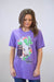Lazy J Cactus Hereford Purple Short Sleeve T-Shirt