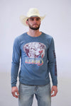 Lazy J Feather Hereford Long Sleeve T-Shirt