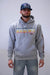 "Lazy J ""J Ranch"" Multi-Color Gray Hoodie"
