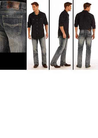 Double Barrel Straight Relaxed Sraight Leg By Rock and Roll Denim