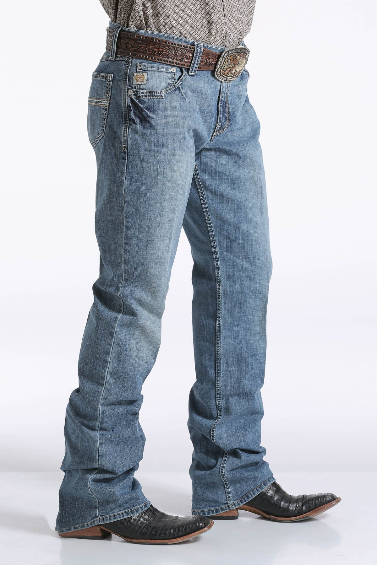 Cinch Carter 2.0 Relaxed Fit Light Wash Men's Jean