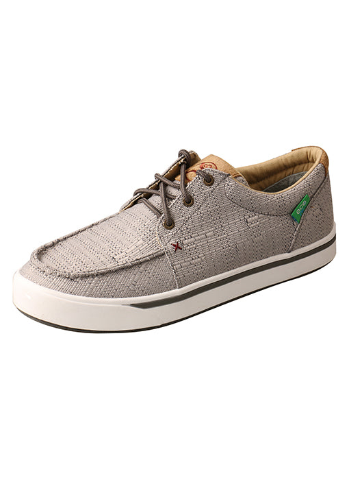 Twisted X Men's Light Grey Hooey Lopers