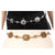 Fame Accessories Ornate Chain Belt