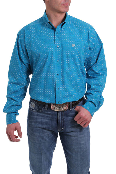Cinch Turquoise Button Down Classic Shirt