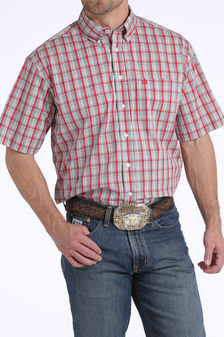 Arena-flex s/s plaid by Cinch
