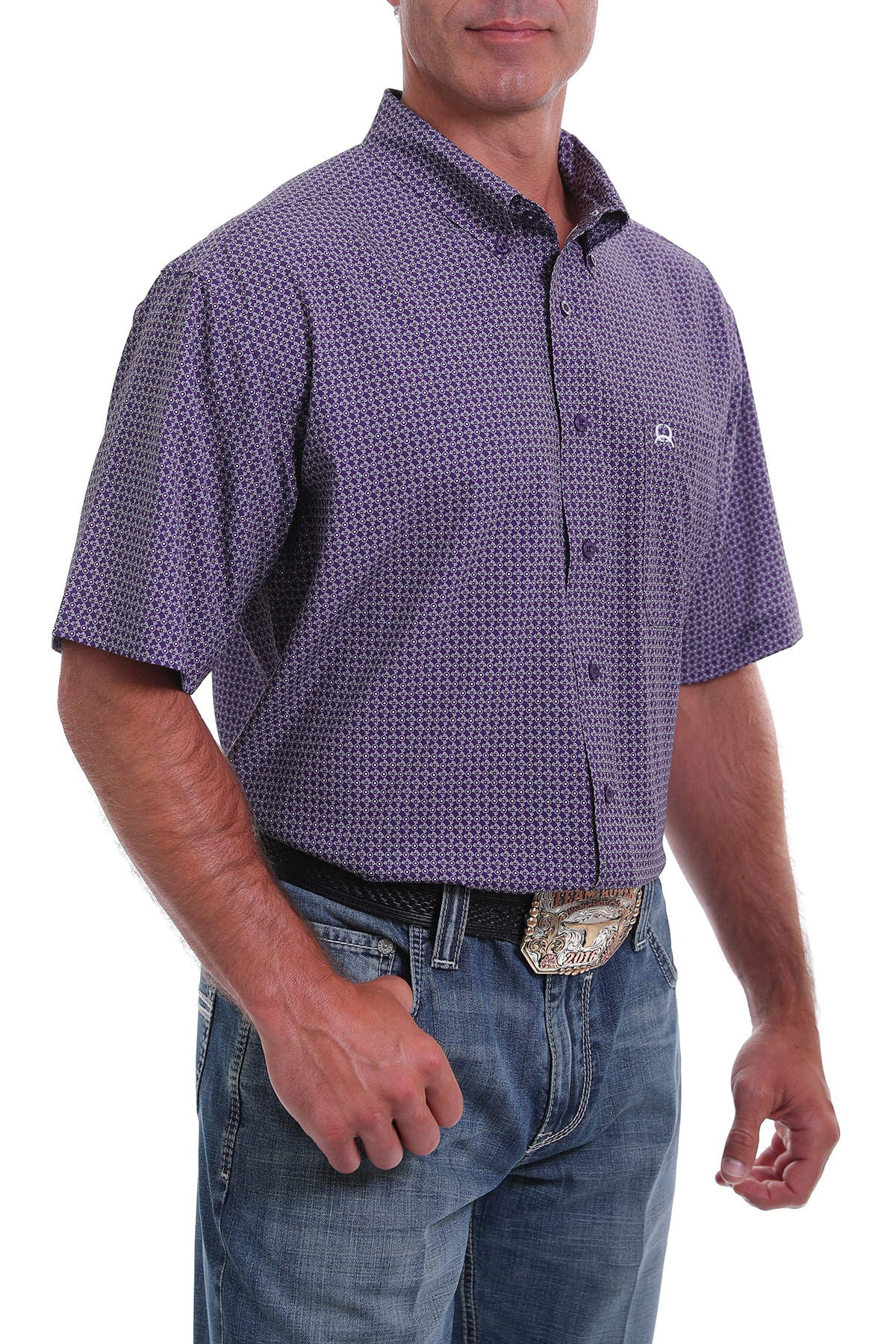 Cinch Men's Short Sleeve Arenaflex
