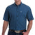 Cinach Men's Arena Flex Short Sleeve Shirt - Blue