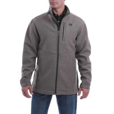 Cinch Men's Wool Blend Jacket - Brown