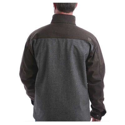 Cinch Men's Concealed Carry Bonded Jacket - Brown Grey