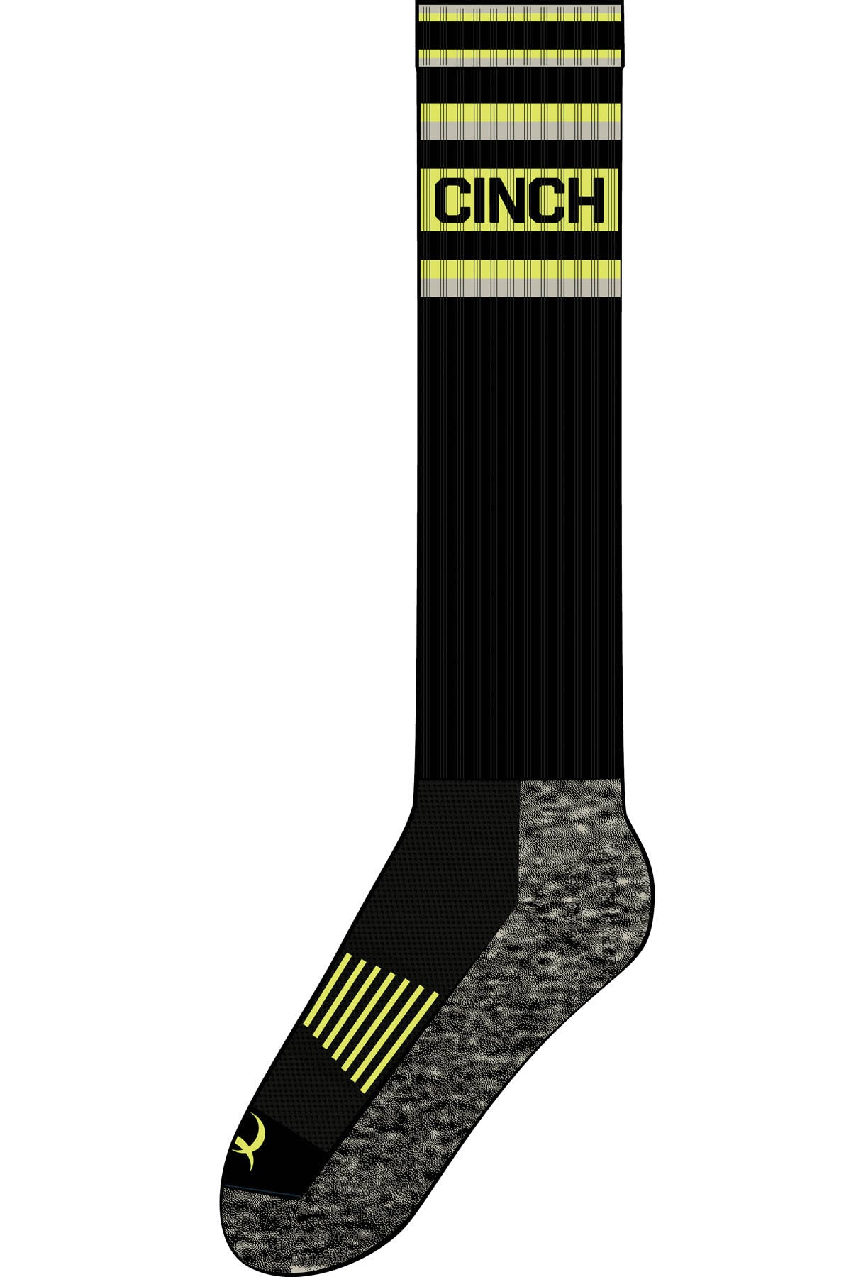Black Athletic Sock by CINCH