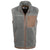 Mountain Khaki Gunmetal Fourteener Men's Full Zip Vest